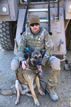 """Army Private First Class Jeremy Wirths & """"Handsome"""" David"""