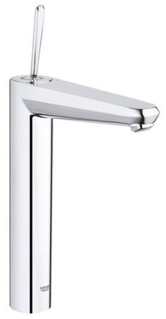 GROHE's Eurodisc Joystick faucet is a contemporary statement piece offering fingertip control and precision engineering #joystick #faucet #bathroom http://www.grohe.co.uk/en_gb/bathroom-collection/mixer-taps-eurodisc-joystick.html