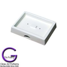 Glass Casting Mold - Switch Plate Toggle Cover