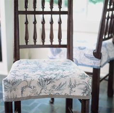 John French Of Slips Shows Us How To Create Flirty Slipcovers For Dining Room Chairs