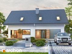 Projekt domu Dom w zdrojówkach - ARCHON+ Outdoor Decor, Interior Designing, House, Engineering, Home Decor, House 2, Projects, Nest Design, Interior Design