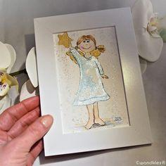Gestern Nacht hatte ich im Atelier einen dicken fetten Schutzengel.  Ich finde, jeder sollte wenigstens einen kleinen guardian angel haben. Hab ich euch gleich auch mal einen gemacht  #wandklex #malerei #handgemalt #aquarell #kunst #unseretsy #etsyseller #etsyshop wandklex.etsy.com #etsygifts #etsyfinds #engel #angel #kinderzimmerdeko #Unikat #nursery #schutzengel #guardianangel