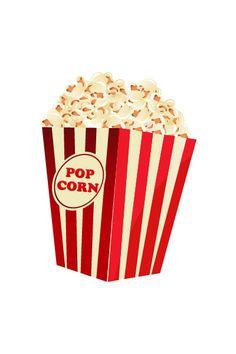 Popcorn Vector Image #hollywood #vector #movie #popcorn http://www.vectorvice.com/hollywood-vector-pack