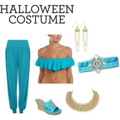Princess jasmine costume by gendbab on Polyvore featuring WearAll, Trina Turk, 1 ONE, Dana Buchman, Lucy Ashton and Athleta