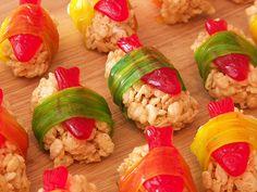 Dessert sushi - love this!
