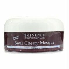 Eminence Cleanser 2 Oz Sour Cherry Masque Oily To Normal Large Pored Skin 214 For Women *** For more information, visit image link. Best Natural Skin Care, Organic Skin Care, Led Light Therapy Mask, Eminence Organics, Sour Cherry, Skin Care Tools, How To Get Rid Of Acne, Face Skin Care, Acne Skin