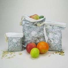 Produce bags from Fab, but DIY-able, great patterns