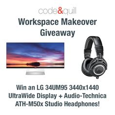 Workspace Makeover Giveaway