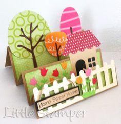 אושרת קורן עיצובים: כרטיס לבית קטן במושב