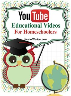 YouTube Education Videos for Homeschool snipet reviews on several educational online videos #HeartofWisdom #Educational #Videos #youtube #netflix