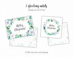 Winter & Christmas flowers pack - Illustrations - 4