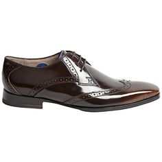 Buy Sweeney London Buxhall Patent Brogue Derby Shoes Online at johnlewis.com