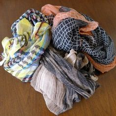 Learn three easy ways to tie a scarf for everyday wear!