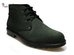 Red Tape Cregg en cuir ciré Noir Men's Worker Chaussures, Style - Noir - noir, - Chaussures red tape (*Partner-Link)