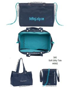 $20 Soft Utility Tote (embroidery extra) with additional $35 order in November, 2015. www.BeABagLady.com @TheresaB31 #TheresaB31 Thirty One Uses, Thirty One Fall, Thirty One Gifts, 31 Bags, Utility Tote, November 2015, Fall Winter 2015, 3 In One, 31 Ideas