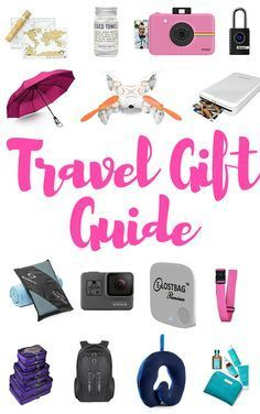Christmas is just around the corner. Maybe you have no idea what to give to your travel loving friend? Check out the hottest gifts for 2017! #giftguide #Christmas #gifts