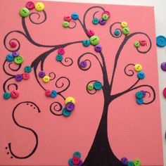 a cute board you could put in the classroom and write the students names as if they were leaves of the branches (could incorporate finger prints as well) could make it bigger and put exemplary classwork on it or elaborate on this idea etc