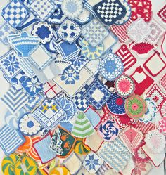 Potholder galore. Collection of Anna Bauer