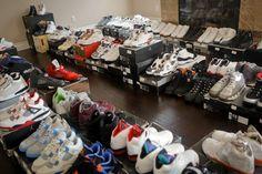 """A """"Sneak Peek"""" Inside DeMar DeRozan's Shoe Room"""