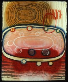 """""""Crown of Light Years"""" Karen Kunc; woodcut  So excited she will be here next week!"""