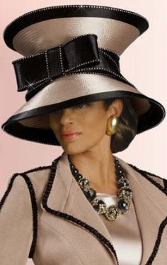 bcd93ad6552 The fashion of African-American women and church hats. Church Attire