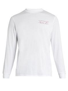 8195c5809cccb Martine Rose Logo-print cotton-jersey T-shirt Printed Cotton