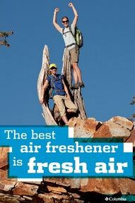 Enjoy the fresh air. Air Freshener, The Fresh, Movie Posters, Bicycles, Columbia, Advice, Strong, Motivation, Film Poster