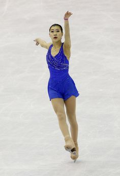 Kanako Murakami -  Blue Figure Skating / Ice Skating dress inspiration for Sk8 Gr8 Designs.