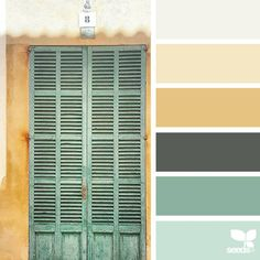 today's inspiration image for { a door hues } is by @maria_minimal ... thank you, Maria, for another incredible #SeedsColor image share!