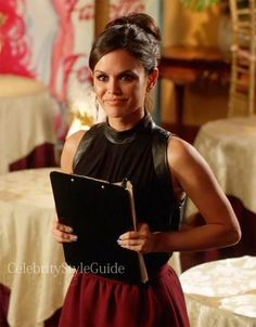 cool Seen on Celebrity Style Guide: Hart of Dixie Fashion: Rachel Bilson as Zoe Hart wears this sleeveles... Celebrity Style Check more at http://pinfashion.top/pin/72843/