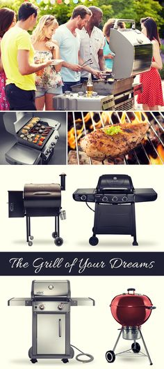 Choosing the right grill for your needs will help ensure your cookout is easy, fun and delicious!
