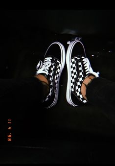 and white tiles old skool - . Vans black and white tiles old skool - .black and white tiles old skool - . Vans black and white tiles old skool - . Tenis Old School, Checkered Vans Outfit, White Vans Outfit, Vans Noir, Vans Shoes Fashion, Vans Shoes Outfit, Vans Sneakers, Casual Shoes, Cute Vans