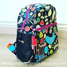 Diy Purse, Rucksack Backpack, Vera Bradley Backpack, Kate Middleton, Diy Tutorial, Craft, Purses And Bags, Free Pattern, Sewing Projects