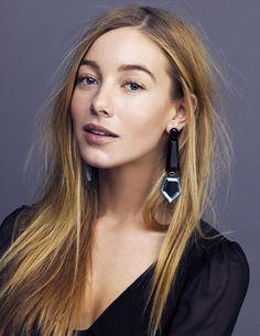 Charlotte Vega - I LOVE THESE EARRINGS.