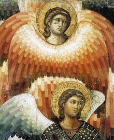 Pietro Cavallini ~ The Last Judgement (detail), Church of Santa Cecilia, Trastevere, Rome, 1290s
