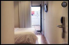 Hostel, Valencia, Youth, Curtains, Urban, Photography, Home Decor, Blinds, Photograph