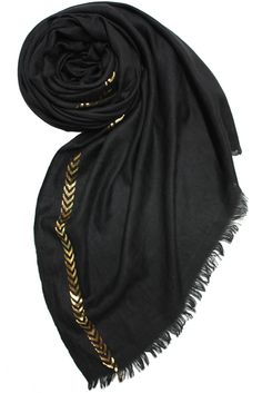 Lightweight and stylish, this scarf will be a chic, finishing touch to any outfit. Available in store and online.