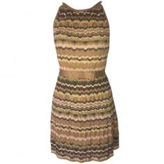 M Missoni Golden knit Dress