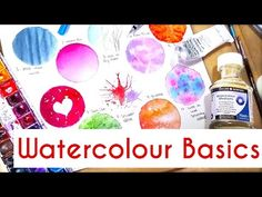 10 Easy Watercolour Techniques For Beginners: Watercolour painting tutorial, tips & basics - YouTube
