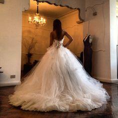 Yasmine Yeya Couture wedding dress , WOW! http://www.pinterest.com/JessicaMpins/