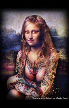 Mona Tattoed  by Nikita (Brazil)