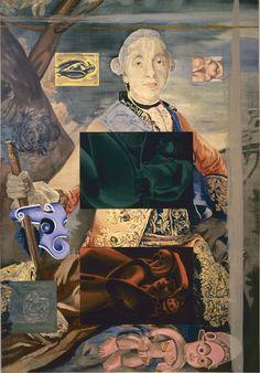 David Salle | Lampwick's Dilemma, 1989