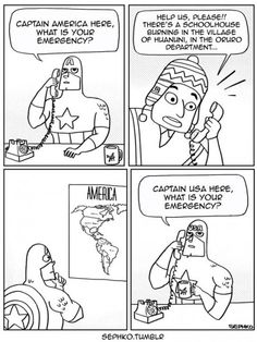 Superhero problems.