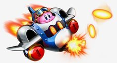 "Kirby: Planet Robobot - Jet: it basically transforms your Robobot Armour into a plane. You can shoot enemies with regular ""ammo"", and missiles. You can also dodge enemies and attacks"