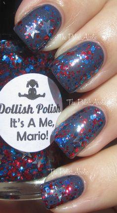dollish polish - its a me, mario!