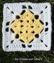 Yellow Diamond Square