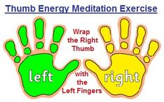 Finger Meditations: #1 Thumb Exercise balancedwomensblog.com