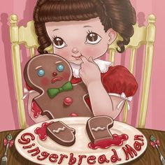 Listen to Gingerbread Man by Melanie Martinez in 💜🐇 playlist online for free on SoundCloud Melanie Martinez Pictures, Melanie Martinez Drawings, Album Cry Baby, Cry Baby Storybook, Crybaby Melanie Martinez, Melanie Martinez Anime, Fan Art, Arte Pop, Gingerbread Man