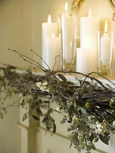 Opt For An Organic Holiday Garland | photo Monic Richard |Stylist Nicola Marc | House & Home
