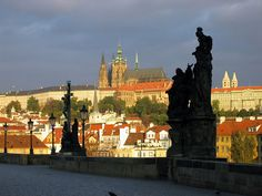 Prague Castle taken from Charles Bridge